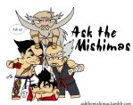 Ask the Mishimas banner by Leaf-nin