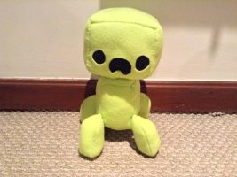 Creeper plushie by ashcreator