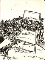 my patio (pen test) by erspears