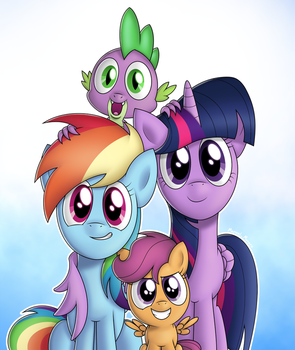 [Gift Art] A Family Portrait by Manual-Monaro