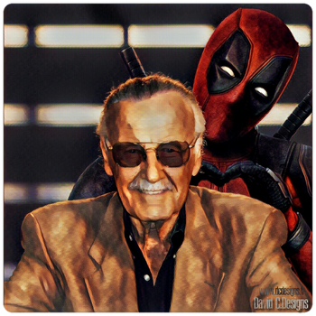 DEADPOOL LOVES STAN LEE by Davian-Art