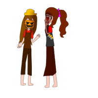 tf2 halloween 2013 namfon and june by Lovehalo