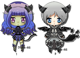 Demon adoptable batch CLOSED by Diana-AS
