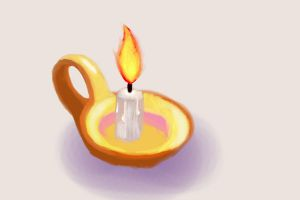Candle paint by dathore