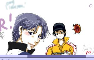Atobe and Sanada Pchat Scrap by omittchi