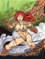 June 3 - Red Sonja by KileyBeecher