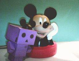 Danbo and Mickey by LeRosaVare
