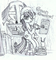 Good-morning-Twilight-Sketch by MrFulp
