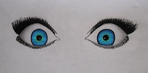 Electric Eyes by SinoraViolet