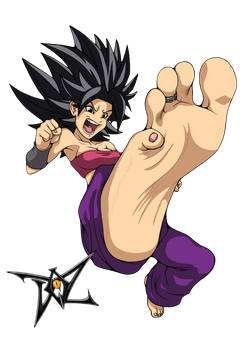 Caulifla by DazidentEvil