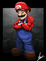 Mario by BourneLach
