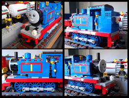Lego Thomas the Tank Engine (modified) by Kumata