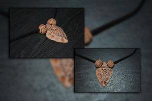 Arrowhead Pendant by KirstenBerryCrafts