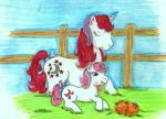 Mom and Baby Moondancer by okiegurl1981