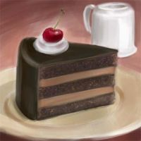 Choco Cake by mythsnlore