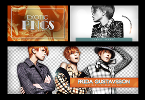 Pack Png 686 // Frida G. by ExoticPngs