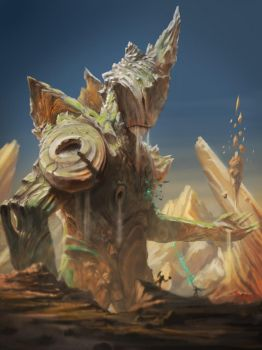 Earth Colossus by strenerus