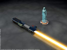 My Lightsaber 3D by RisiaVyle by Theo-Kyp-Serenno
