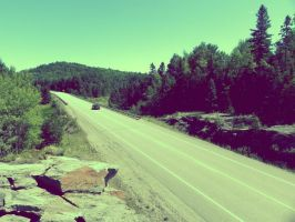 ` Highway to Hell + by JohnstonColleen