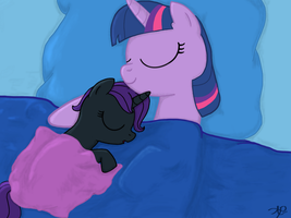 Nyx and Twilight by sgtgarand