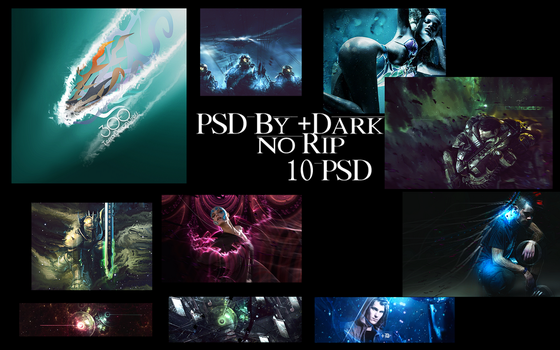 Pack PSD Sign By Dark by Sunchales