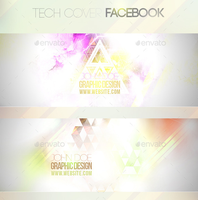 2 Tech Facebook Covers by blackcatme