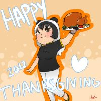 Happy Thanksgiving 2012 by yinwa333