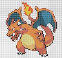 6.charizard by Electryonemoongoddes