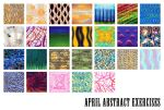 April Abstract Exercises by nangke