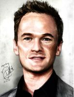 Neil Patrick Harris Colour by baby-drummer23