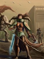 Amazons of War by DreadJim