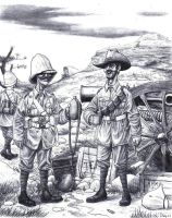 Boer War Lads by AngusMcLeod