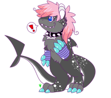 Sharky Commish: Did You Say FOOD?! by FrankenPup