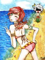 FF XIII-Summer Time by Moondrophime