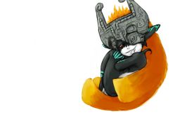 Midna art for a banner by Neecross