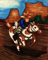Tintin: Wild West by PeaceMakerSama