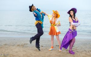Don't touch us! One piece cosplay. by Giuzzys