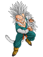 SSJ5 Kid Trunks by brolyeuphyfusion9500