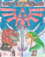 Twilight Princess 'Cover' Color by Nintendraw