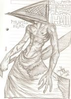 Pyramid Head on Halloween by xAngelHikarix