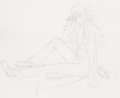 Luke fon Fabre-Tales of the Abyss-Sketch by ChaosSoda