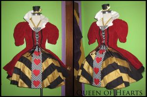 Queen of Hearts Halloween by LoveAllThingsIrish
