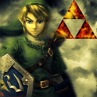 The TriForce has Turned: Link by Saston