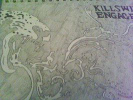 killswitch engage best band ever! my album cover d by gbftattoos