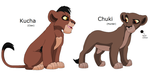 Nutty Cubs: Kucha and Chuki by Namacub95