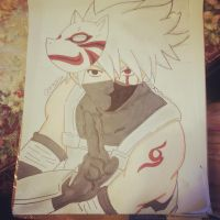 kakashi by dechuuuu