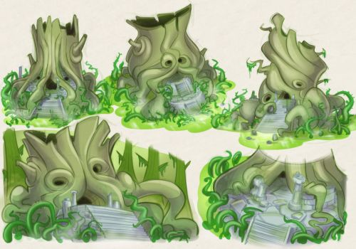 Woodfall Concepts by Baron-Von-Jello