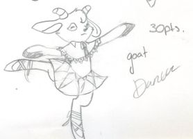 Adoptable Goat OPEN by deaththekidfangirl