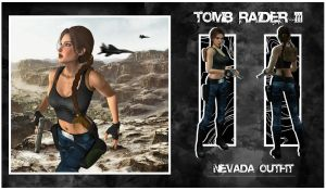 TR3: Nevada Outfit by ReD8ull
