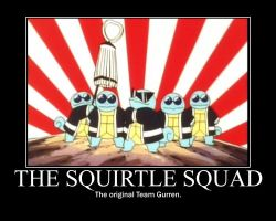 Squirtle Squad Poster by FluffyFlaaffy